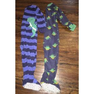 Baby Boy footie pajamas bundle